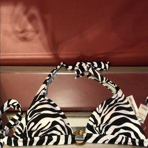 Sand n Sun Zebra Swim Top